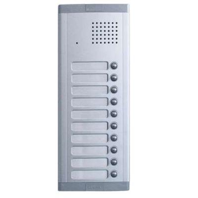 Μπουτονιέρα Amplyvox για σύστημα θυροτηλεφώνου 10 κλήσεων