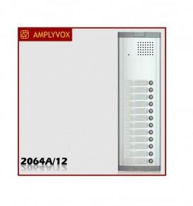 Μπουτονιέρα Amplyvox για σύστημα θυροτηλεφώνου 12 κλήσεων