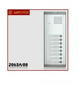 Μπουτονιέρα Amplyvox για σύστημα θυροτηλεφώνου 8 κλήσεων