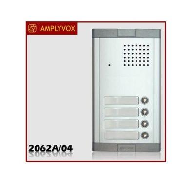 Μπουτονιέρα Amplyvox για σύστημα θυροτηλεφώνου 4 κλήσεων