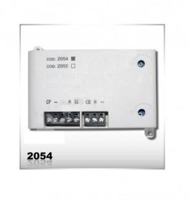 2054.Θυρομεγάφωνο για εγκαταστάσεις 2 καλωδίων θυροτηλεφώνων