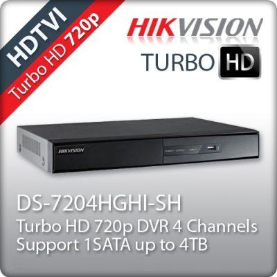 Καταγραφικό 4 καμερών HIKVISION DS-7204HGHI-SH