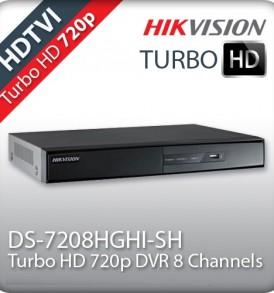 Καταγραφικό 8 καμερών HIKVISION DS-7208HGHI-SH