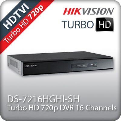 Καταγραφικό 16 καμερών HIKVISION DS-7216HGHI-SH