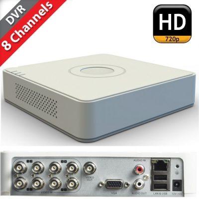 Dvr Hikvision 8 εισόδων DS-7108HGHI-SH