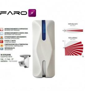 Ραντάρ εξωτερικού χώρου διπλής τεχνολογίας venitem faro ip