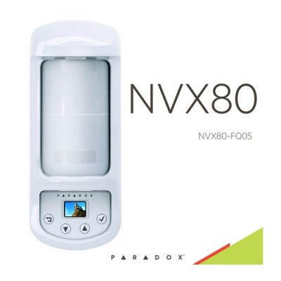 Yπέρυθρο και μικροκυματικό ραντάρ εξωτερικού χώρου paradox NVX80