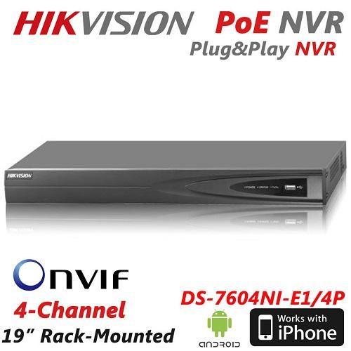 HIKVISION DS-7604NI-E1