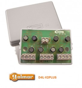 Διακλαδωτής Golmar D4L-V2Plus