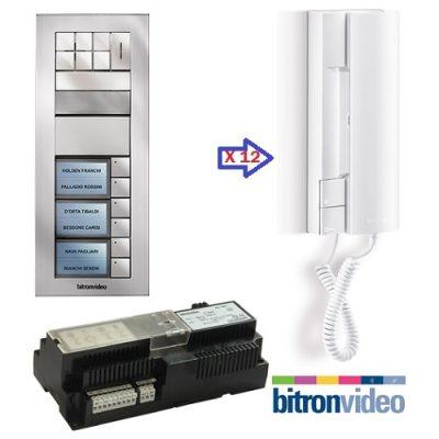 Bitronvideo θυροτηλέφωνα