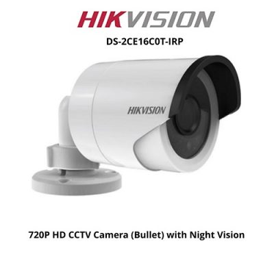 HIKVISION DS-2CE16C0T-IRP Κάμερα Bullet HDTVI 720p