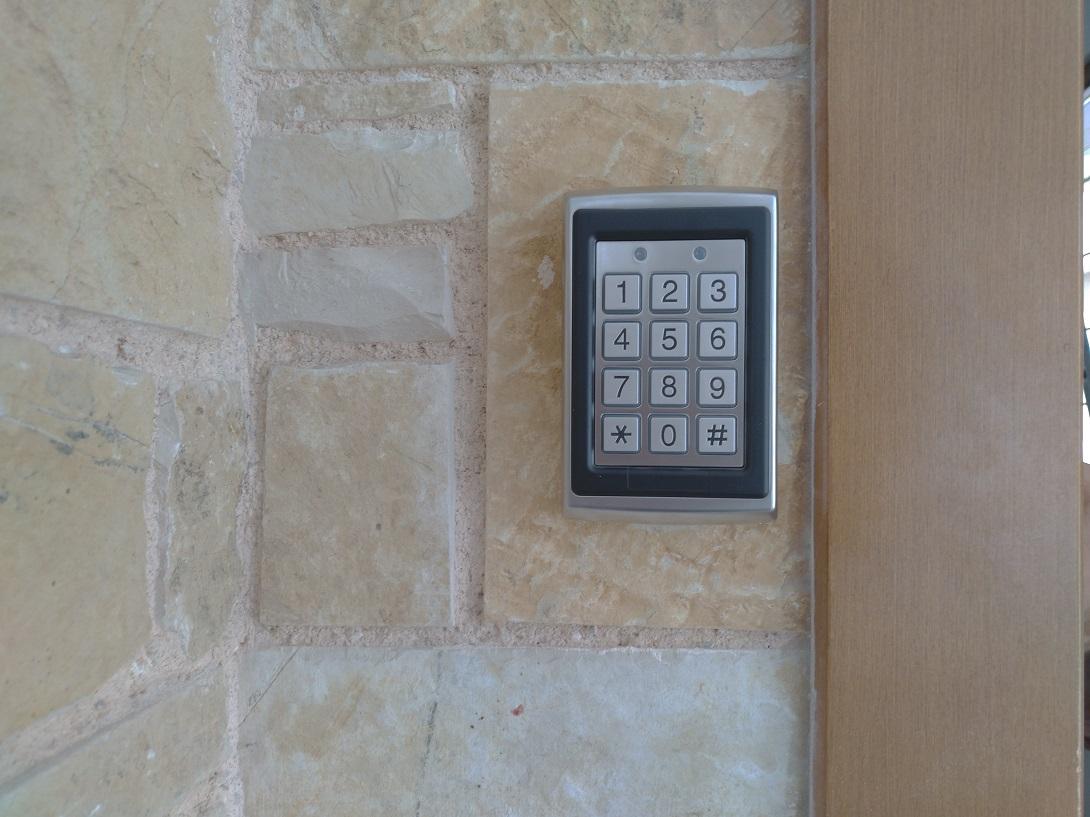Πληκτρολόγιο access control αυτόματου κλειδώματος πόρτας