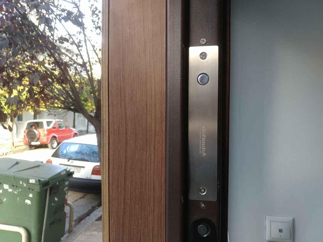 Ηλεκτροπύρος αυτόματου κλειδώματος πόρτας