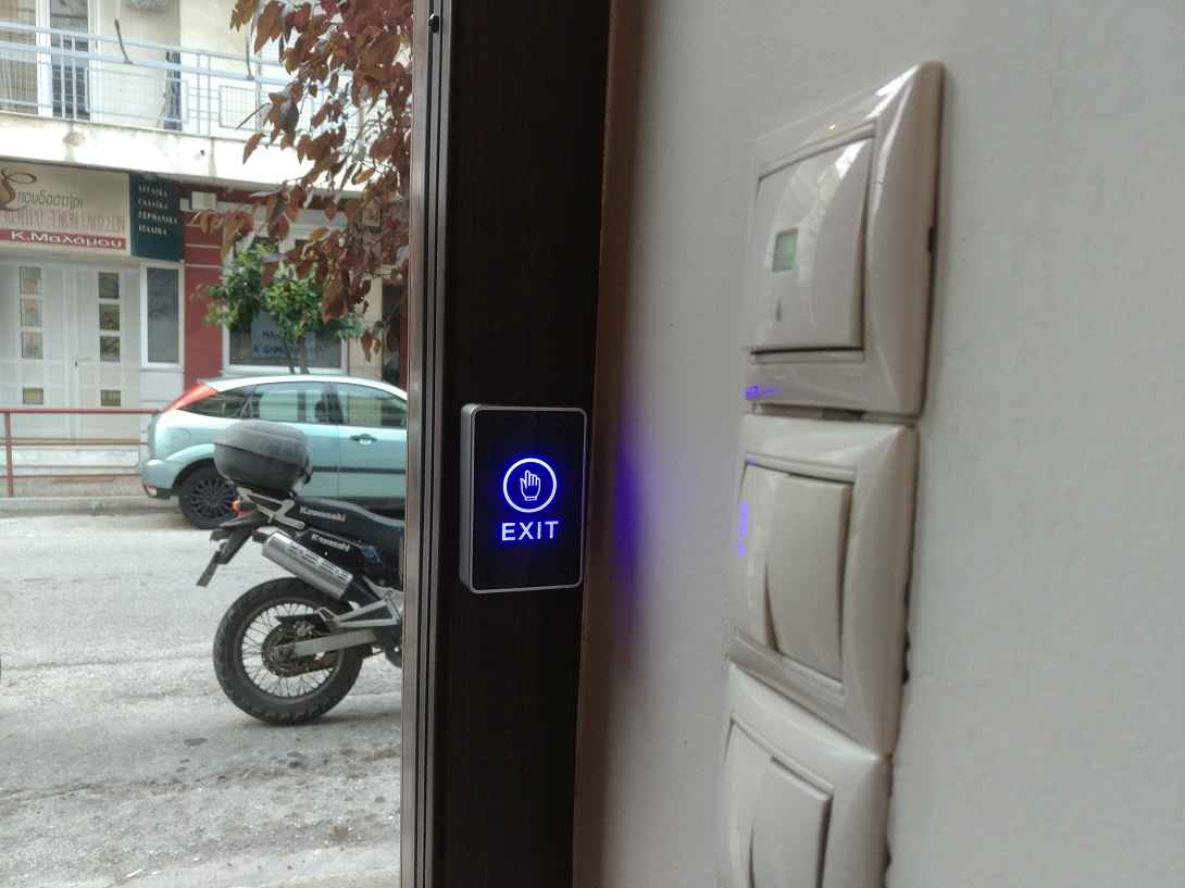 exit button access control